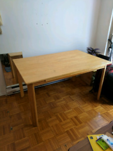 Wooden Table (Verdun) Pick up Only