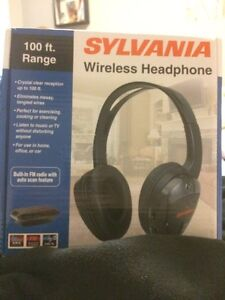 Sylvania Wireless Headphones