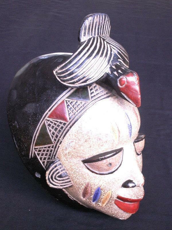 LARGE AFRICAN HAND CARVED WOOD