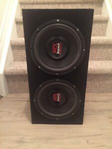 MTX Subwoofer with Box