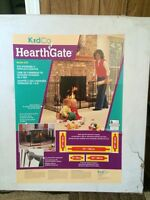 Hearth gate - fireplace hearth fence.