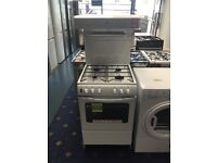 Ex-Display New World 55cm Eye / High Level Grill Gas Cooker White £275