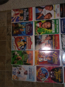 Lot of 25 vhs Disney videos