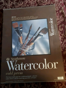 24 sheets of. High quality watercolor paper