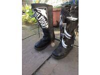 Wulf sport mx boots