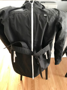 Helly Hansen Jacket with Belt and Hood.