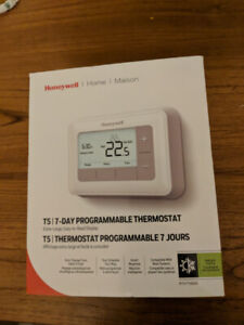 Honeywell T5 7 day programable thermostat