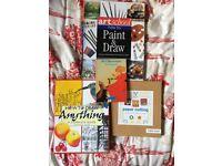 4 art/drawing/craft books