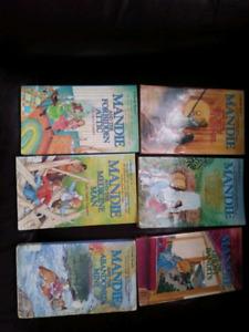 9 Mandie books