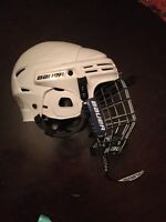 Bauer RBE III Jr hockey helmet and cage