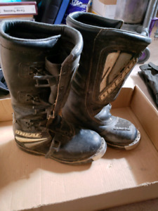 O'Neal Motocross Boots - size 7
