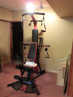 Bow Flex weight machine, Schwinn Elliptical Machine