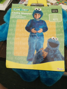Cookie monster costume for 2T size