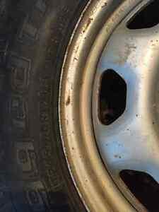 Used 7 bolt rims & tires Moose Jaw Regina Area image 3