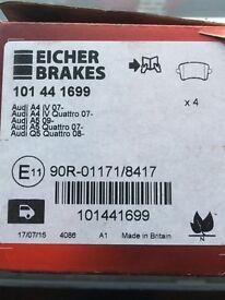 Audi A4 brake pads (2008+)