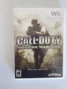 Call of Duty Modern Warfare - reflex edition for Nintendo Wii