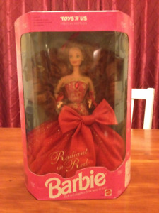 """Barbie Radiant in Red Toys """"r"""" us special edition"""