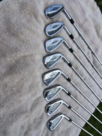 Mizuno MP63 Irons and golf bag
