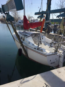 Catalina 25 Sailboat - Excellent Starter Boat, Brand New Motor
