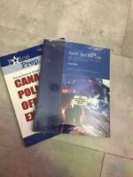 First and second year police foundations textbooks