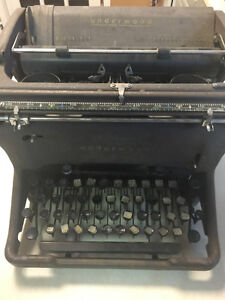 Old solid vintage typewriter