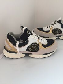Chanel trainers - UK size 5. Offers welcome