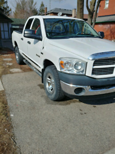 2008 dodge ram 1500 4x4 big horn 4door 57 he