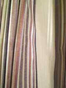 Custom made,new pinch pleated, drapery-curtains for two windows Kingston Kingston Area image 4