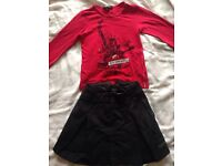 Girls DKNY outfit age 5