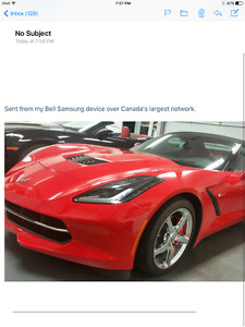 2014 Chevrolet Corvette 2lt Convertible