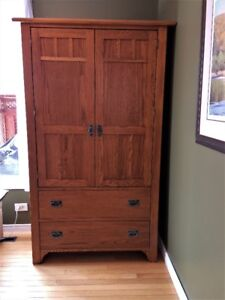 Amish Mission Armoire