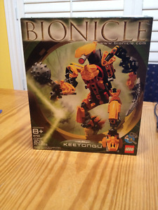Lego Bionicles building sets - new in box and gently used