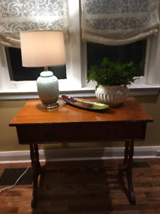 Antique console table/vanity/desk