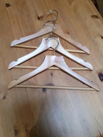 Small Wooden Coat Hangers