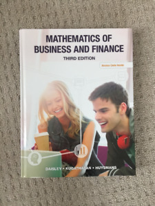 Mathematics Of Business and Finance, Third Edition