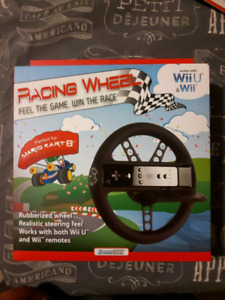 Wiiu/wii racing wheel NEW