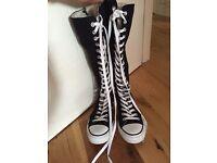 Size 6 knee high converse
