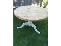 Up Cycled Solid Pine Table (Can Deliver)