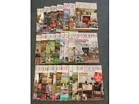 Country Homes and Interiors Magazines collection