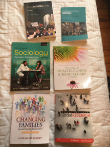 Social Work, Indigenous Studies and Sociology Textbooks For Sale