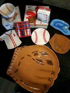 Baseball Party Set for 4