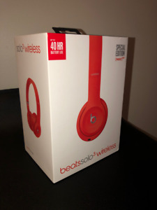 Écouteurs/Headphones Beats Solo 3 Wireless Rouge (Product Red)