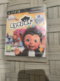 Eyepet PlayStation 3 game and demo disc
