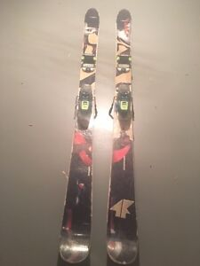 4frnt skis with marker squire bindings