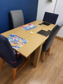 Dining table and 4 chairs FREE