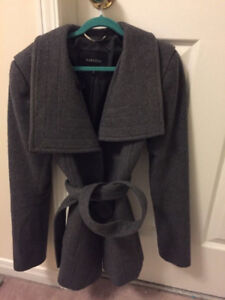 Like New. Babaton Grey Spencer Wool Coat. $175 OBO