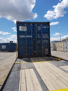 20 FOOT USED SEA CAN CONTAINERS $2899.99 40 FT $2999.99