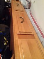 Single 3 drawer bed with Simmons