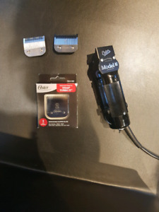 Model 10 oster clippers + blades