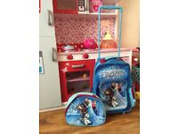 Kids Frozen Luggage Set
